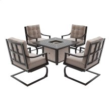 Town Court - Brown 2 Piece Patio Set