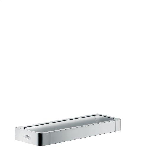 Brushed Chrome Rail grab bar 300 mm