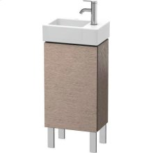 Vanity Unit Floorstanding, Cashmere Oak
