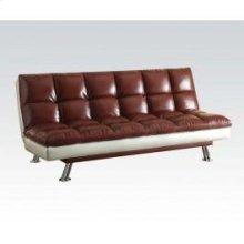 Dark Red Adjustable Sofa