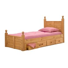 Four-Drawer Under Bed Unit
