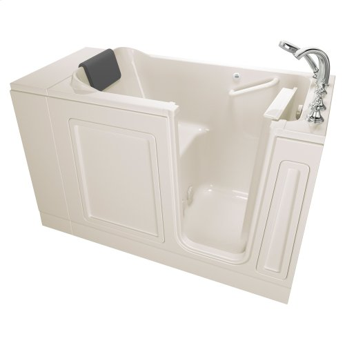 Luxury Series 28x48-inch Right Drain Walk-in Tub with Tub Facuet  American Standard - Linen