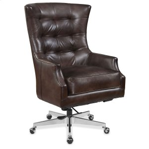 Hooker FurnitureHome Office Keaton Executive Swivel Tilt Chair w/ Metal Base