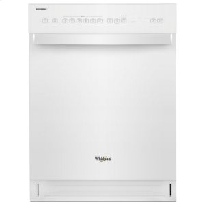 WhirlpoolQuiet Dishwasher with Stainless Steel Tub