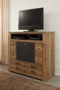 Cinrey - Medium Brown 2 Piece Bedroom Set Product Image