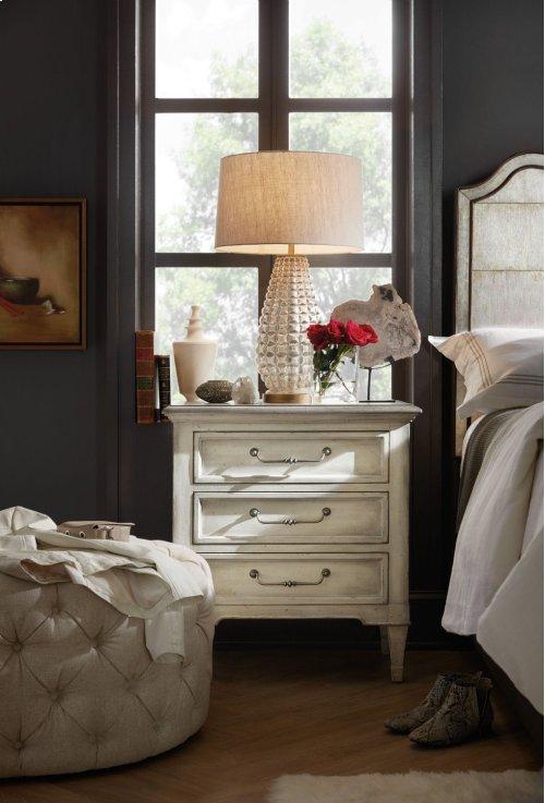 Bedroom Arabella Three-Drawer Nightstand