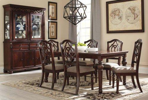 Leahlyn - Reddish Brown 2 Piece Dining Room Set