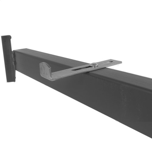 82-Inch Deluxe Full to Queen Conversion Bed Rails 515-1 (90Q-1) with Hook-On Brackets and Adjustable Center Support for Headboards and Footboards, Queen