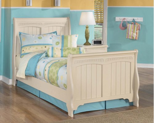 Cottage Retreat - Cream Cottage 3 Piece Bed Set (Twin)