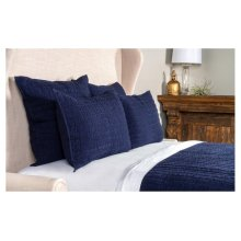 Heirloom Indigo Quilt 4Pc King Set