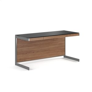 Bdi FurnitureDesk 6001 in Natural Walnut