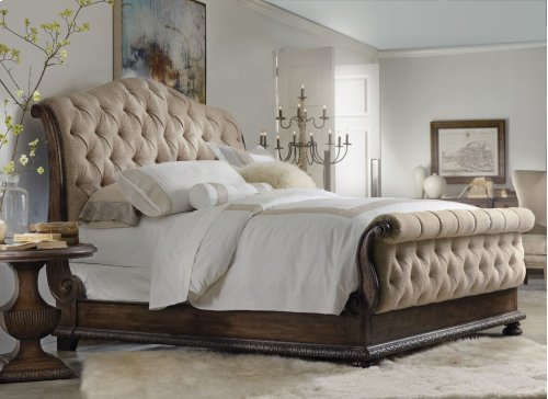 Bedroom Rhapsody King Tufted Bed