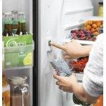 GE ®energy Star® 24.7 Cu. Ft. French-Door Refrigerator