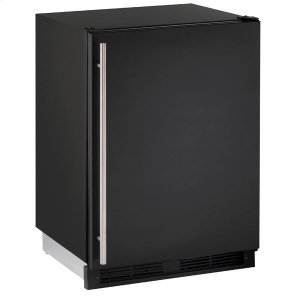"U-Line24"" Refrigerator With Black Solid Finish (115 V/60 Hz Volts /60 Hz Hz)"