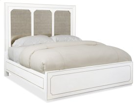Bedroom Modern Romance King Panel Bed
