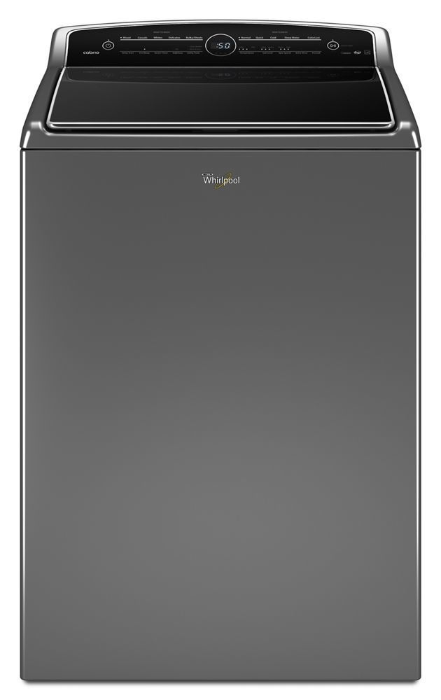 WTW8500DC Whirlpool 5 3 cu ft HE Top Load Washer with
