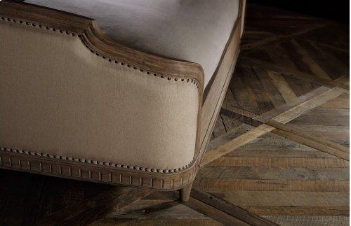 Bedroom Corsica Queen Upholstery Shelter Bed