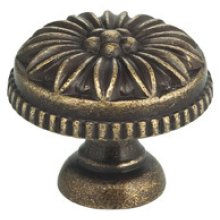 Classic Cabinet Knob in SB (Shaded Bronze, Lacquered)