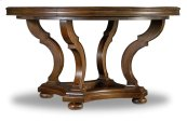 Dining Room Archivist 54in Round Dining Table w/1-18in Leaf