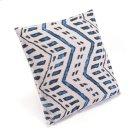 Ikat Pillow 2 Blue & Natural Product Image