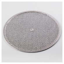 "Aluminum Filter, Washable for use with 10"" utility ventilators"