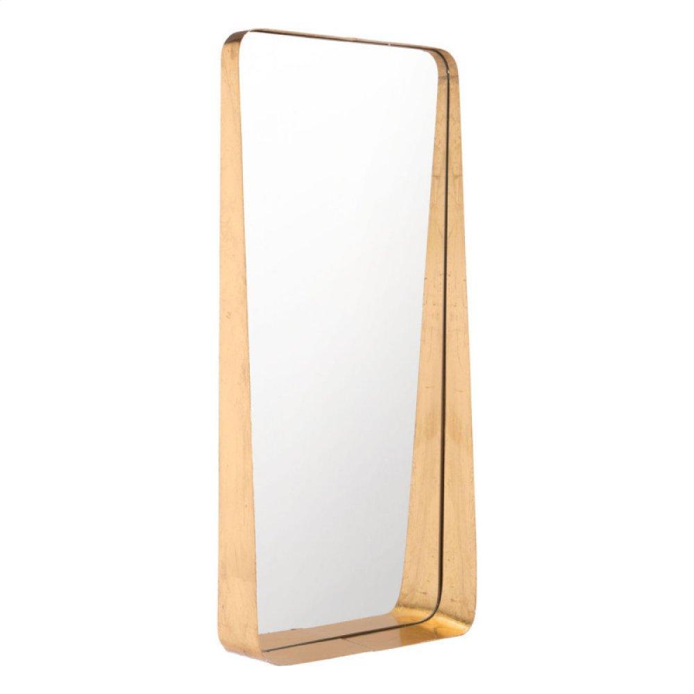 Tall Gold Mirror