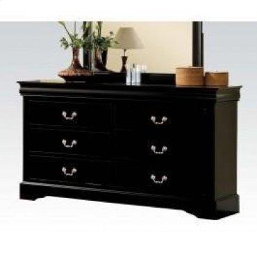 Black L.p Dresser