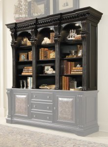 Home Office Telluride Bookcase Hutch
