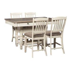 Ashley Furniture Bolanburg - Antique White 5 Piece Dining Room Set