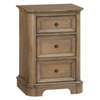 RGB Small 3-Drawer Stonewood Nightstand Product Image