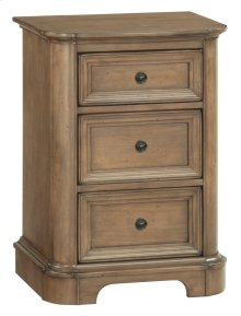 RGB Small 3-Drawer Stonewood Nightstand