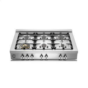 36 Rangetop 6-burner Stainless Steel -