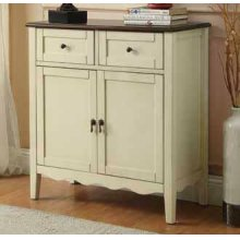 Traditional White Wine Cabinet