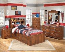 Barchan - Medium Brown 6 Piece Bedroom Set