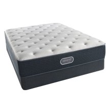BeautyRest - Silver - Tide Pool - Tight Top - Plush - Cal King