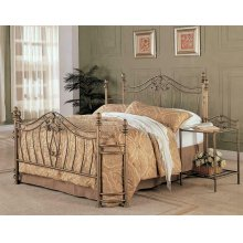 Sydney Traditional Antique Brushed Queen Bed