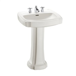 Guinevere(r) Pedestal Lavatory - Colonial White
