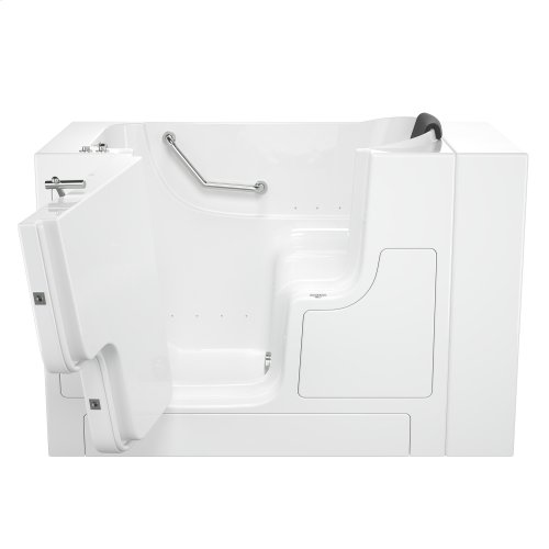 Gelcoat Premium Seriers 30x52 Walk-in Tub with Air Spa and Outswing Door, Left Drain  American Standard - White