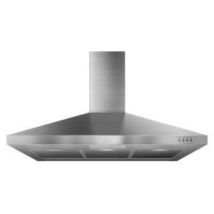 Gold® 36-inch Vented 300-CFM Wall-Mount Canopy Hood Stainless Steel -