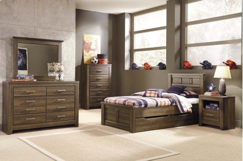 3 Pc. Full/Queen Bedroom Set - Juarano Dresser, Mirror & Panel Headboard
