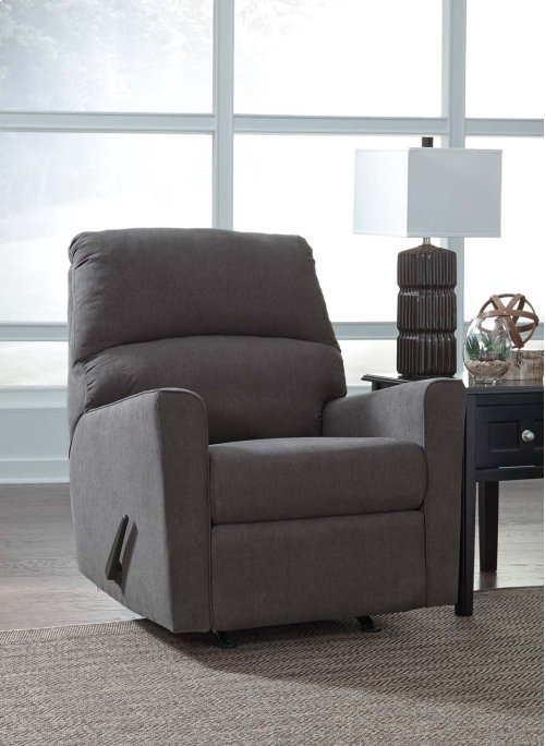 Alenya Rocker Recliner - Charcoal