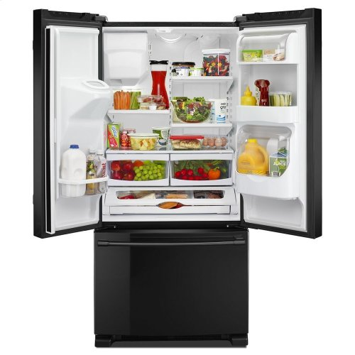 33- Inch Wide French Door Refrigerator with Beverage Chiller Compartment - 22 Cu. Ft.