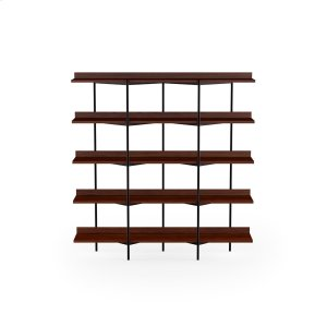 Bdi FurnitureShelving System 5305 in Chocolate Stained Walnut Black