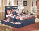 Leo - Blue 5 Piece Bed Set (Full) Product Image