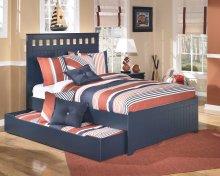 Leo - Blue 5 Piece Bed Set (Full)
