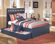 Leo - Blue 5 Piece Bed Set (Full)
