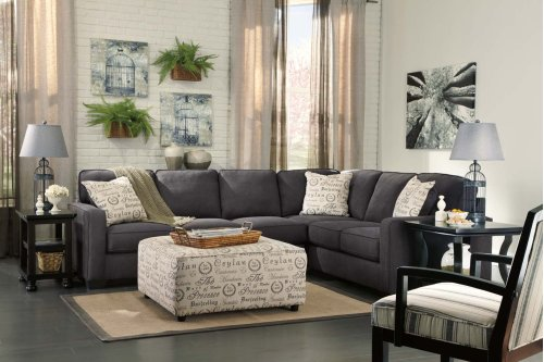 Ashley 3-Piece Sectional with LAF Loveseat