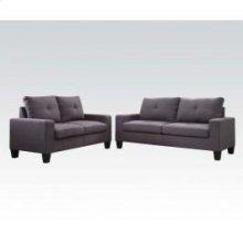 Platinum II Gray Sofa/loveseat