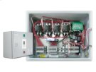 Plug-and-Play outdoor controller with 4 x 30A/2pole contactors allowing for a total load of 120A with a minimum power supply of 40A. Comes in LED enclosure with GFEP protection, built-in Digital controller and ground temperature sensor. Product Image