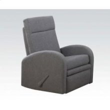 Gray Linen Rocker Recliner